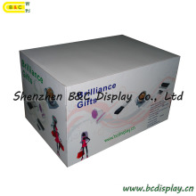 Customized Counter Display, Desk Paper Display, Candy Cardboard Display Stand, Corrugated Display, POS Display, Carton Display, Tiered Shelf Display (B&C-C26)